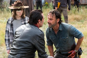 7x16 ~ The First दिन of the Rest of Your Lives ~ Carl, Negan and Rick