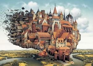 A City on the Wing سے طرف کی Jacek Yerka