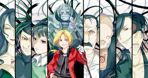 Edward and Alphonse Elric vs. The Seven Deadly Sins