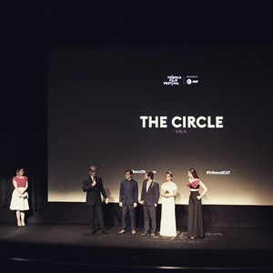 Emma Watson at 'The Circle' premiere at Tribeca (Social media pics)