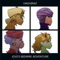 (Gorillaz x Jojo's Bizarre Adventure) Hashiraz