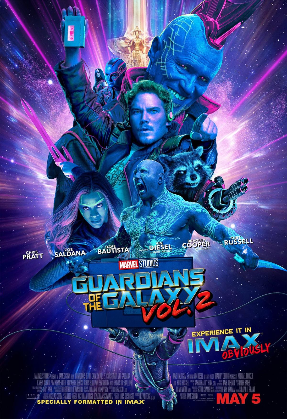 'Guardians Of The Galaxy Vol. 2' IMAX Poster
