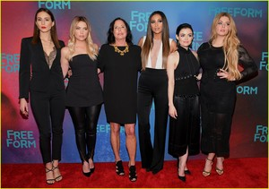 'Pretty Little Liars' Cast Attend Final Freeform Upfronts in NYC