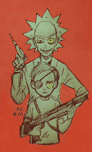 Rick and Morty 바탕화면 titled 12rm