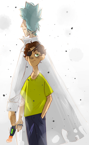 Rick and Morty 바탕화면 called 14rm