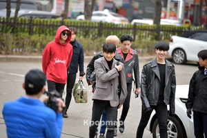 170331 GOT7 Heading to KBS musique Bank