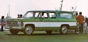 1975 Chevy Suburban