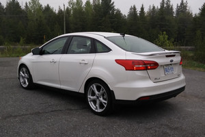 2015 Ford Focus III Titanium Sedan