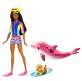 2017 Barbie lumba-lumba, ikan lumba-lumba Magic Doll