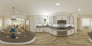 3D キッチン
