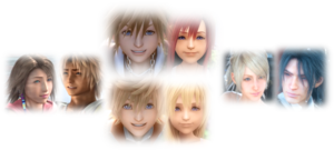 4 My お気に入り Square Enix Video Game Couple