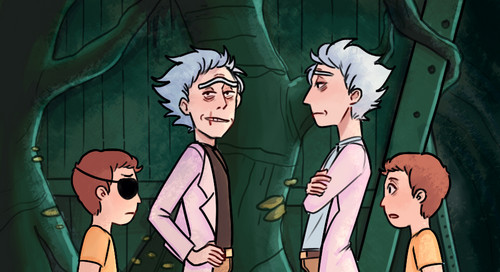 Rick and Morty 바탕화면 called 6rm
