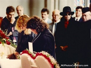 Ryan White's Funeral Back In 1990