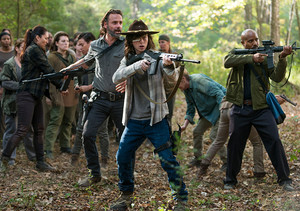 7x15 ~ Something They Need ~ Rick, Carl and Gabriel