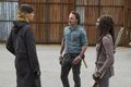 7x16 ~ The First Day of the Rest of Your Lives ~ Michonne, Rick and Jadis - the-walking-dead photo