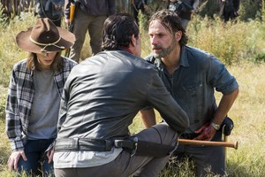 7x16 ~ The First دن of the Rest of Your Lives ~ Negan, Carl and Rick
