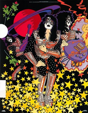 Ace Frehley ~solo album poster