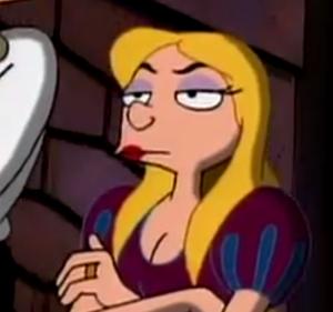 Adult Helga Pataki- Not amused