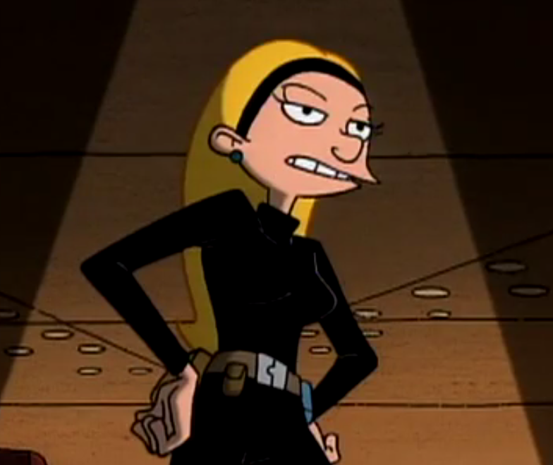 Adult Helga Pataki- Super Spy