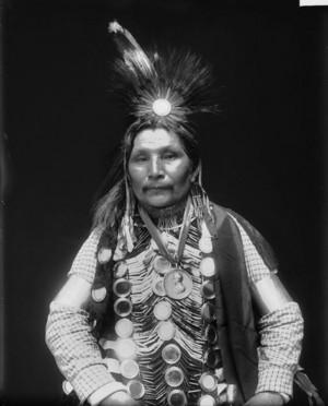 Ah Bow E Ge Shig aka William Potter 1911 (Ojibwe)