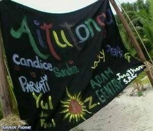 Aitutonga (Merged) Tribe Flag (Cook Islands)