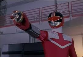 Alex Morphed As The Red Time Force Ranger