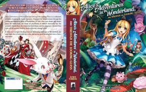 Alice in Wonderland Storybook with Аниме Illustration