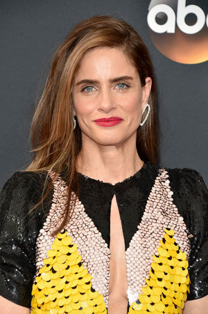 Amanda Peet 2016 Emmy Awards