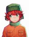 Anime Kyle - kyle-broflovski fan art