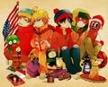 Anime South Park - south-park fan art