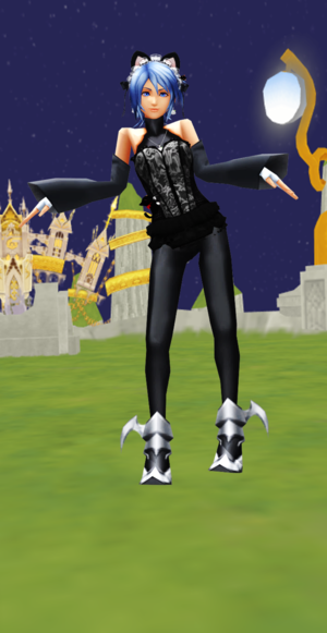 Aqua Halloween Water Kitty Dancer JointOperation