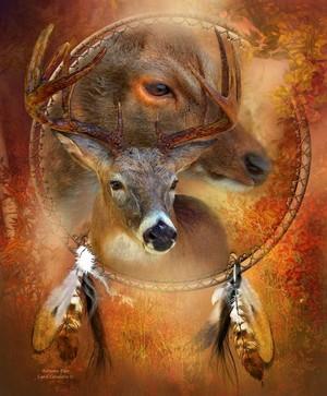 Autumn Deer দ্বারা Carol Cavalaris