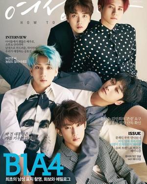B1A4 @ Woman Donga Magazine April 2017