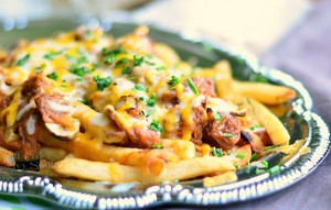 BBQ Pulled Pork Loaded Fries