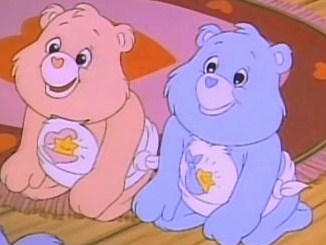 Care Bears wallpaper called Baby Hugs and Tugs