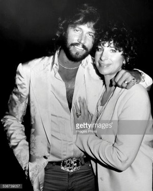 Barbara And Barry Gibb