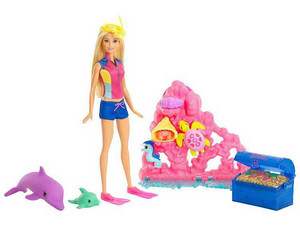 barbie delfín Magic Doll & Playset