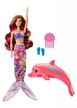 Barbie ڈالفن Magic Mermaid Doll