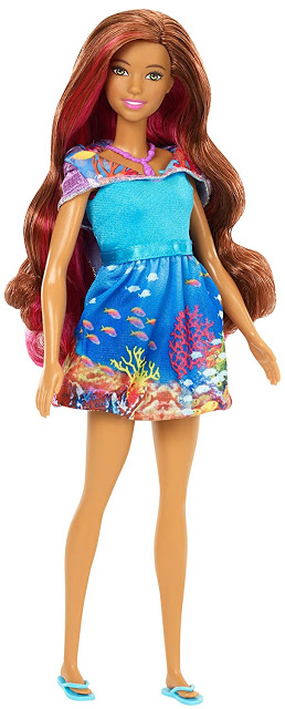barbie ikan lumba-lumba, lumba-lumba Magic Mermaid Doll