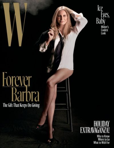 Barbra On The Cover Of W Magazine