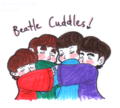 Beatle Cuddles! - the-beatles fan art