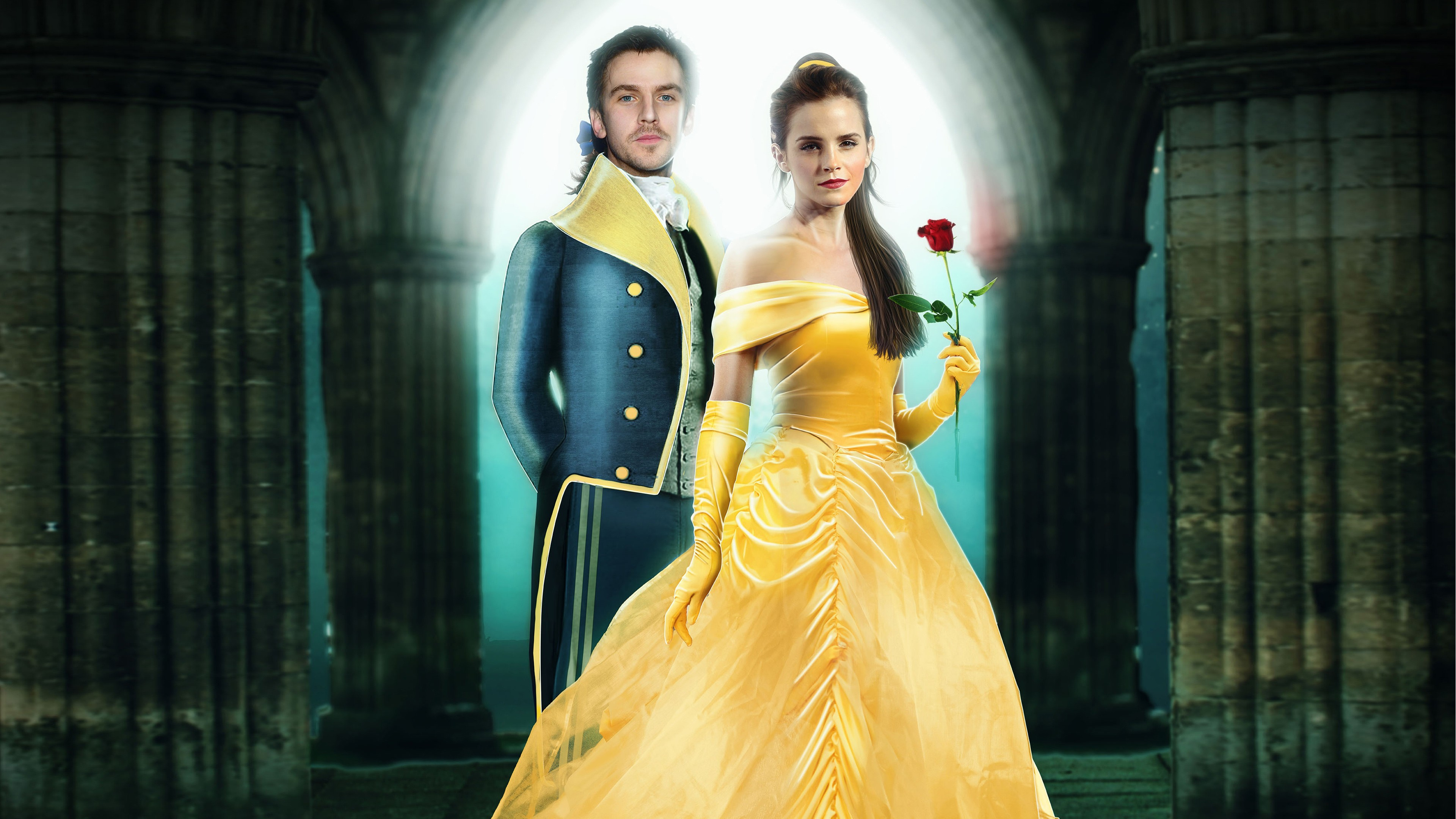 Beauty And The Beast 2017 Jessowey And Andy10b Wallpaper 40307282 Fanpop