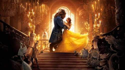 Beauty and the Beast (2017) karatasi la kupamba ukuta titled Beauty and the Beast(2017) karatasi la kupamba ukuta