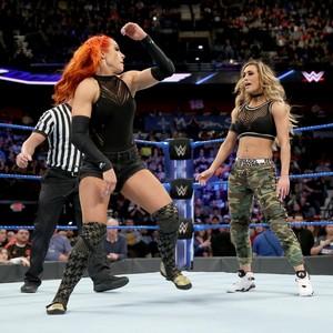 Becky Lynch vs. Carmella - ডবলুডবলুই Smackdown March 21, 2017