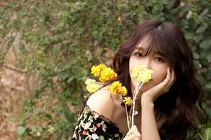 Behind the foto-foto of Jeong EunJi for 'Space' Album jaket