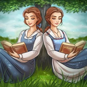 Belle and her counterpart