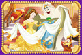 Belle and servant friends - disney-princess photo
