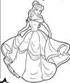 Belle curtsy - disney-princess photo