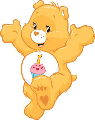 Care Bears wallpaper entitled Birthday Bear