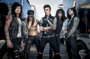 Black Veil Brides ~Warped Tour 2013